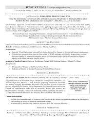 Entry Level Resume Entry Level Sample Resume Refrigeration Design
