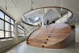 View in gallery Round staircase