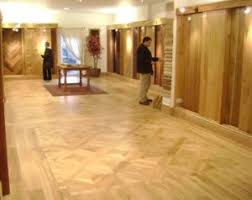 Laminate wood flooring is cost effective, worth only $1 to $6 per square  foot. It is also very easy to install therefore the installation fee is  cheaper, ...