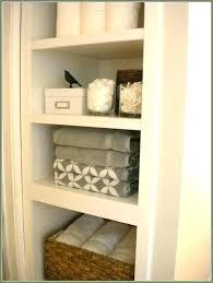 glamorous collection bathroom closet shelves bathroom closet storage ideas topiklan