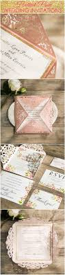 16 Best Pink Wedding Invitations Images On Pinterest Cards Pink Unique Spring Photo Wedding Invitations Ewi