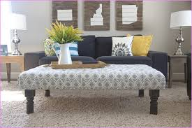 Fashionable Fabric Ottoman Coffee Table Throughout Fabric Coffee Table