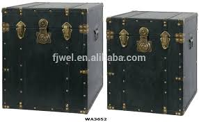 square trunk antique black leather square trunk side tables side side side table on rustic square trunk coffee table square trunk side