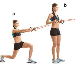 reverse lunge and row resistance band exercises resistance bands best resistance band exercises