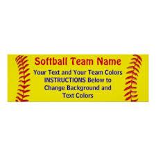 Personalized Softball Senior Night Ideas