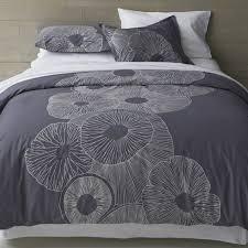 marimekko valmuska slate bed linens crate and barrel king duvetqueen duvetduvet covers queenmarimekko beddingcrate