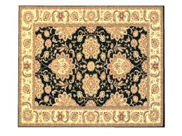 rug in spanish. spanish rug - black \u0026 gold design in