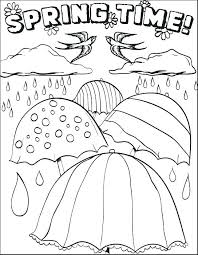 Free Spring Coloring Sheets Here Are Printable Spring Coloring Pages