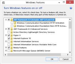 how to install net framework 3 5