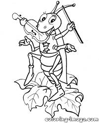 Grasshopper Coloring Page Google Paieška