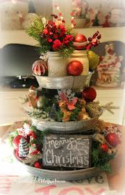Pricilla's Galvanized Christmas Centerpiece-Treasure Hunt Thursday- From My  Front Porch To Yours
