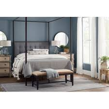 Modern & Contemporary Queen Canopy Bed Frame | AllModern