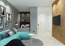 Layouts Blue 4 Charming Blue Accent Apartments With Compact Layouts