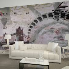 liberty bedroom wall mural: free shipping tv background wall mural non woven bedroom living room wallpaper statue liberty wallpaper