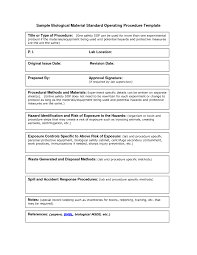 Operations Manual Template Word Operations Guide Template RESUME 17