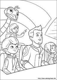 Miles From Tomorrowland Coloring Pages Outer Space In 2019 Miles