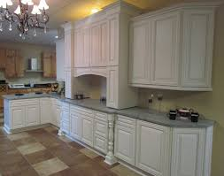 Rta White Kitchen Cabinets Charleston Cherry Saddle And Antique White Kitchen Cabinets We