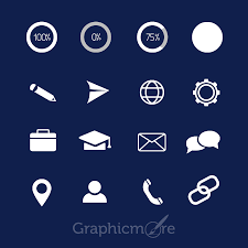 Resume Icons Icons Pack Design For CV Free Download By GraphicMore 46