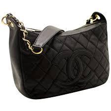 CHANEL Caviar Chain One Shoulder Bag Black Quilted Leather Zipper ... & CHANEL Caviar Chain One Shoulder Bag Black Quilted Leather Zipper 1 Adamdwight.com