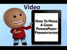 how to make a good powerpoint presentation video
