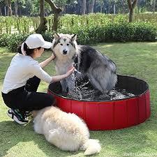 fuloon pvc pet swimming pool portable foldable pool dogs cats bathing tub bathtub wash tub water