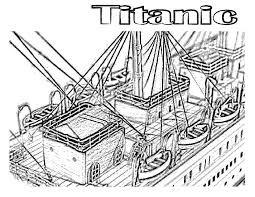 Small Picture titanic coloring pages view from above Coloring Pages