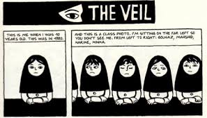 persepolis photo essay screen on presentation religion does the veil deny women of their natural rights or does it represent obedience to allah this picture shows a scene from persepolis where
