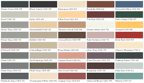 Dark Charcoal Color Pallete Chip Sample Swatch