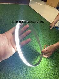Đèn led thanh nhôm dẻo uốn cong định hình- đèn led thanh nhôm dẻo