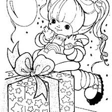 Small Picture Rainbow Brite and Twink Spread Star Sprinkles Coloring Page