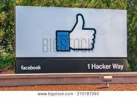 facebook office usa. MENLO PARK, CALIFORNIA, USA - MAY 19, 2013: Facebook Incorporation\u0027s  Entrance Sign Facebook Office Usa