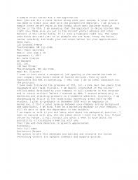 Best Solutions Of Sample Of Cover Letter For Job Application
