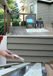 simple deck railing ideas opal wood