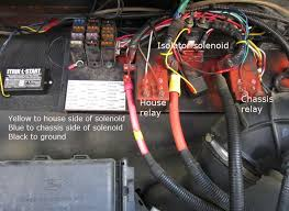 motorhome magazine open roads forum class c motorhomes where to this is how i mounted my tls on the firewall of f53 you can also connect straight to batteries but that takes a lot of wire