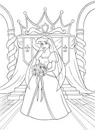 Free Coloring Pages Disney Rapunzel Wedding Video Flynn Rider And