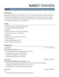 Legal Resume Classy Law Chronological Resumes Resume Help