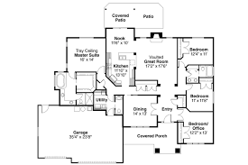 Kitchen Floor Plans Designs Craftsman House Plans Goldendale 30 540 Associated Designs