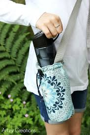 Water Bottle Holder with Free Pattern - artzycreations.com & Water-Bottle-Holder-with-Free-Pattern-Artzy Creations 12 Adamdwight.com