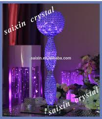 Columns For Decorations 2015 New Crystal Columns Wedding Decorations For Gold Crystal Vase