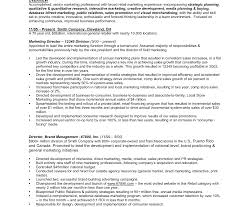 brand management objectives director of advertising andeting resume staggering example manager