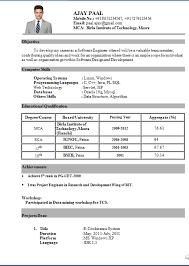 Appealing Resume Headline For Fresher Mca 85 About Remodel Resume Format  with Resume Headline For Fresher Mca