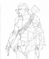 Small Picture People Printable Deathstroke Coloring Pages Arkham Origins for