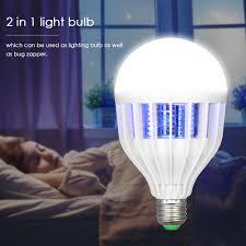 Electric Night Light Lamp Us 6 34 47 Off 2in1 Anti Mosquito Zapper Uv Night Light Lamp Led Mosquito Killer Lamp Electric Mosquito Killer Trap Fly Bug Zapper Ac220v 240v In