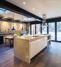 Industrial Kitchen Floor Kitchen Benchtops Kitchen Contemporary With Industrial Kitchen