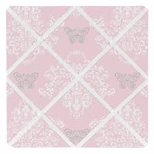 Damask Memo Board Gorgeous Alexa Collection Damask Print Fabric Memo Board