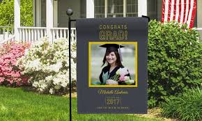 custom garden flags. Simple Flags Up To 73 Off Personalized Graduation Garden Flags  In Custom A