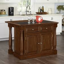 Granite Top Kitchen Cart Black Kitchen Island Table W Granite Top Drawers Best Kitchen