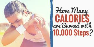how many calories are burned walking 10