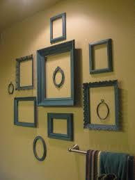 vintage dutch girl wall of teal frames