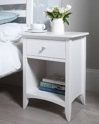 bed side furniture. edward hopper white bedside table more bed side furniture